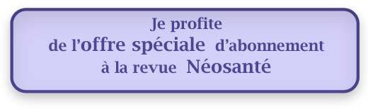 offre spéciale néosanté